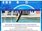 Narrabri Pool and Spa Services new website