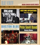 Blue Venom Band Website