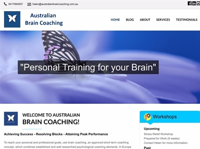 Australian Brain Coaching has a new website